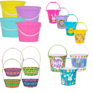 Easter Pails and Baskets