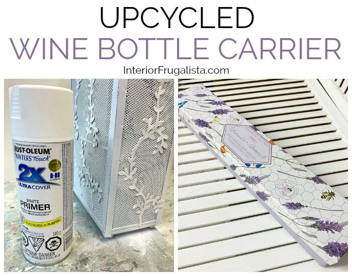 Upcycled Wine Bottle Carrier