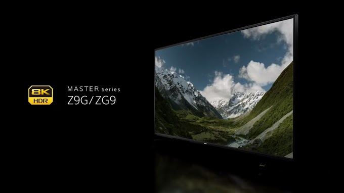Sony Teases Impending Availability of Z9G LED 8K Series