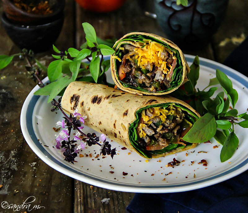 Cheese Steak Wrap