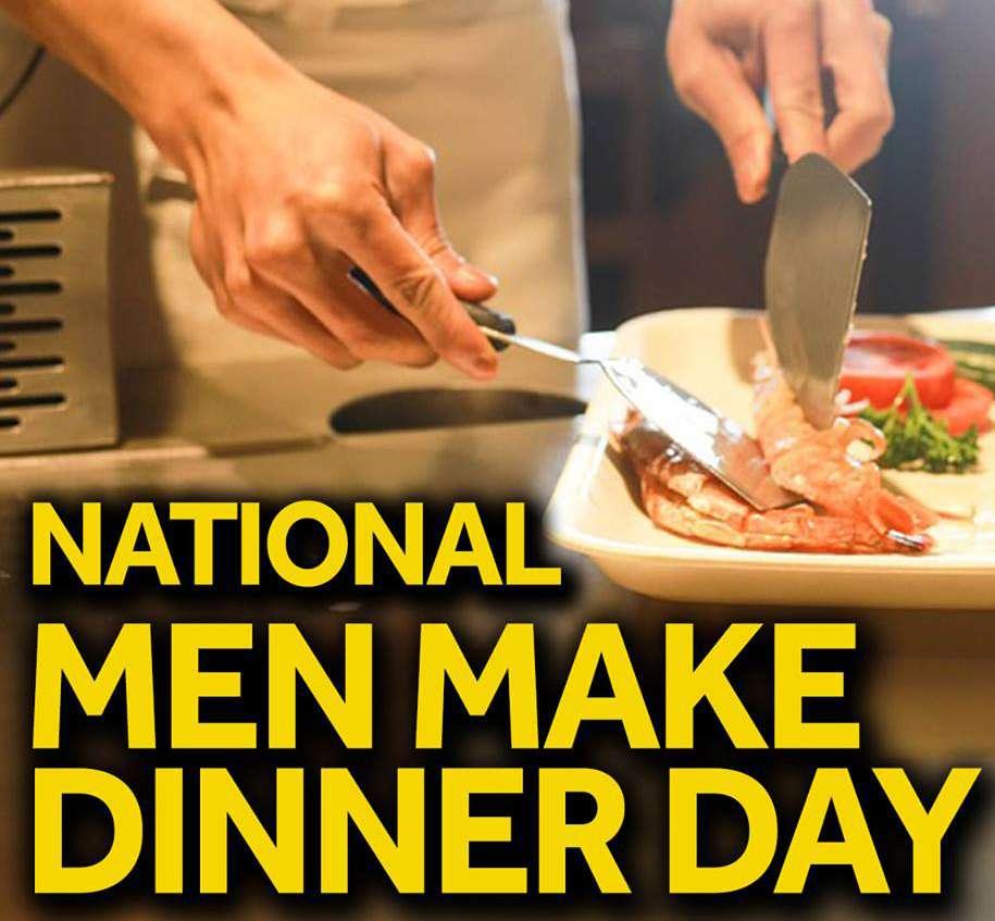 National Men Make Dinner Day Wishes For Facebook