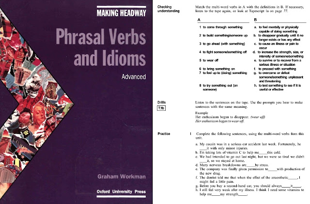 MAKING HEADWAY: ADVANCED PHRASAL VERBS AND IDIOMS + Audio