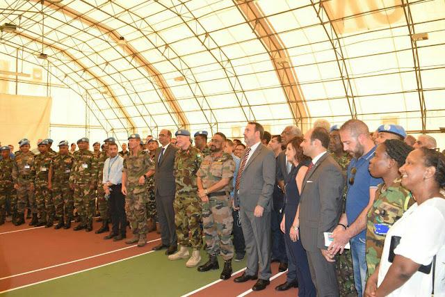 Komandan Satgas Fhqsu Mendapat Pujian Dari Deputy Force Commanderunifil