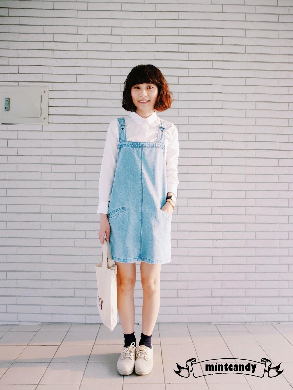 mintcandy: 穿│正式白襯衫的不正式穿搭