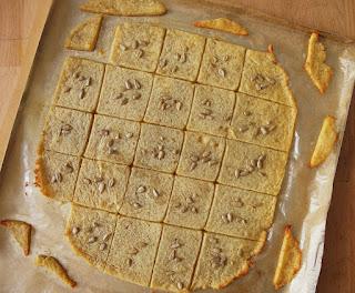 biscuits sablés au parmesan