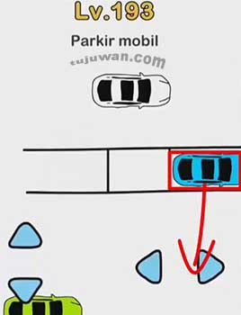 Jawaban Level 193 Brain Out  Parkir Mobil