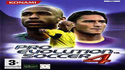 Download Game Pro Evolution Soccer 4 PES 2004 ISO PS2 (PC