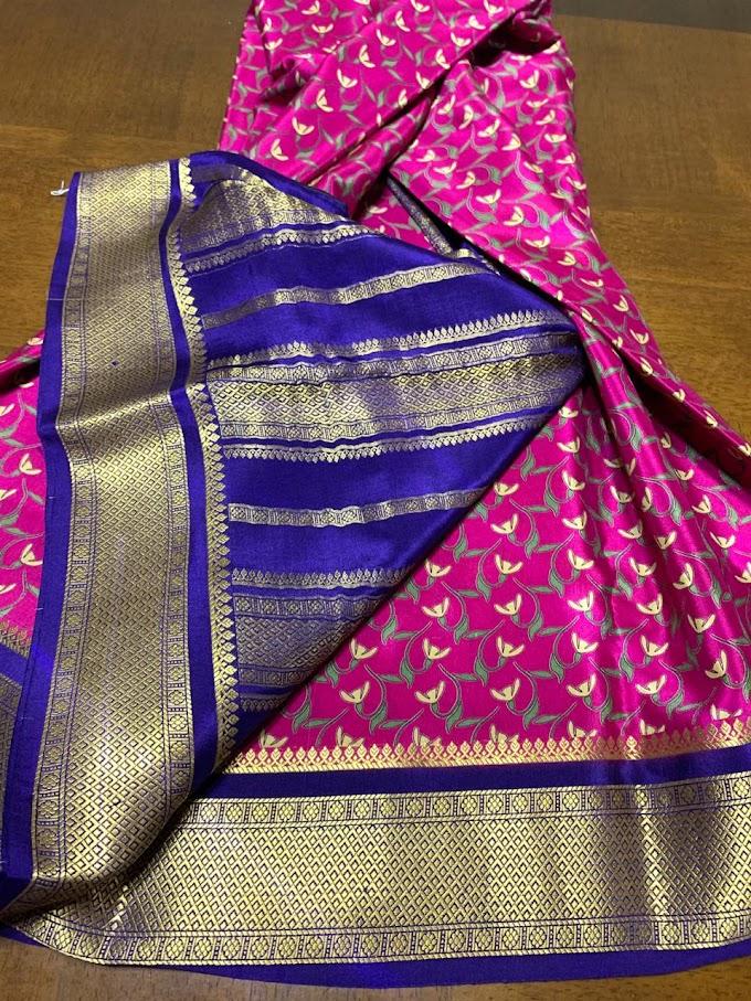 Hot Trending Printed Silk Saree