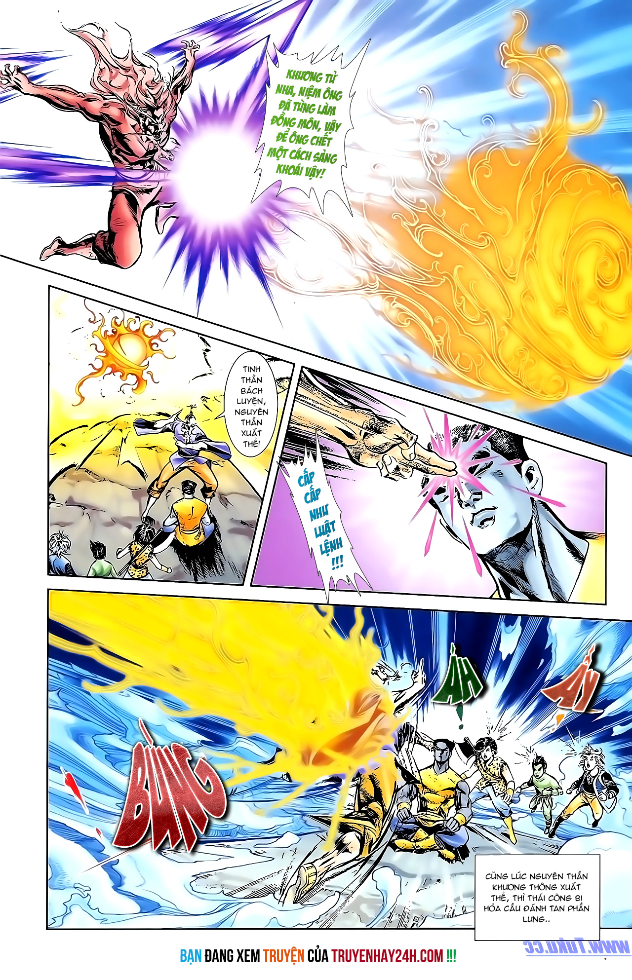 Cơ Phát Khai Chu Bản chapter 154 trang 29