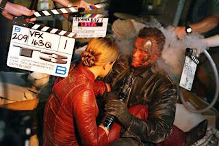 Fotografía del rodaje de Terminator 3