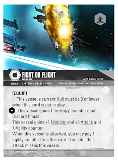 INTERVENE card Fight or Flight