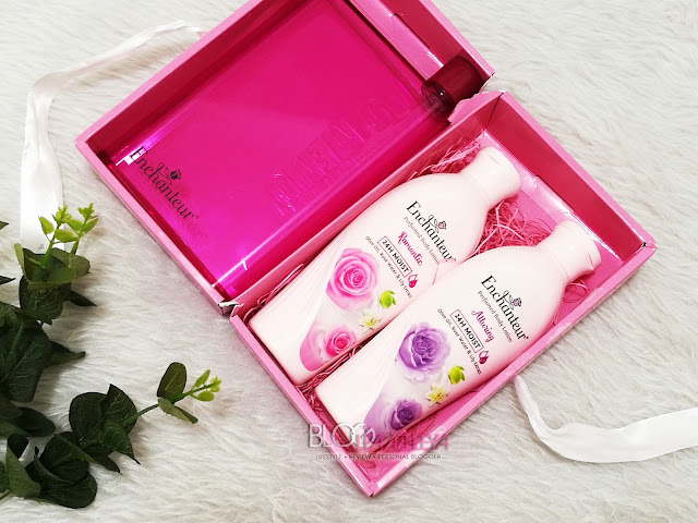 enchanteur, body lotion, lotion. losyen, perfumed body lotion, ENCHANTEUR 24H Moist Perfumed Body Lotion