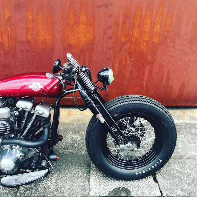 Harley Davidson By Crazy Orange Motorcycles Hell Kustom