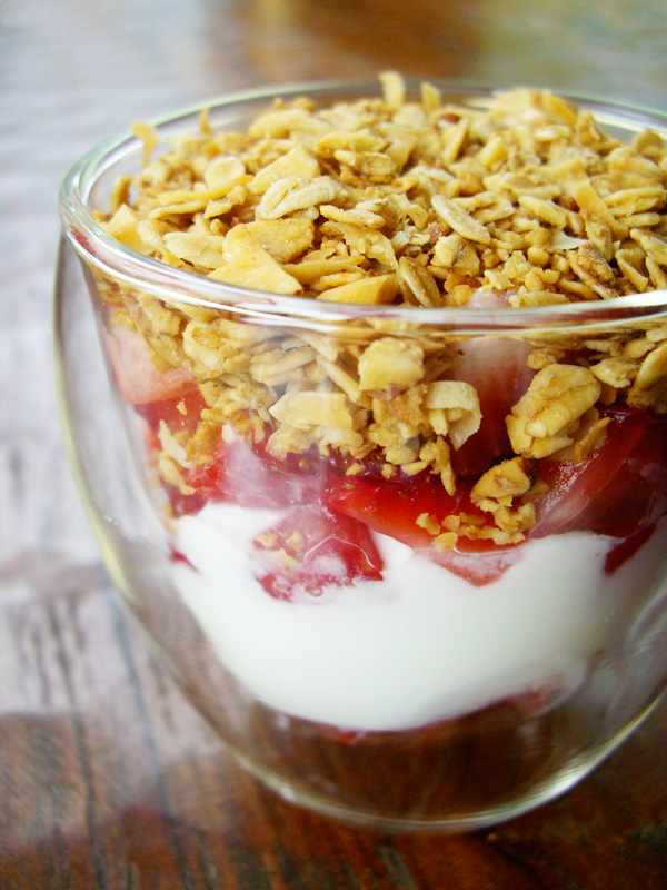 Fresh Strawberry Yogurt Parfaits Sweet Anna S