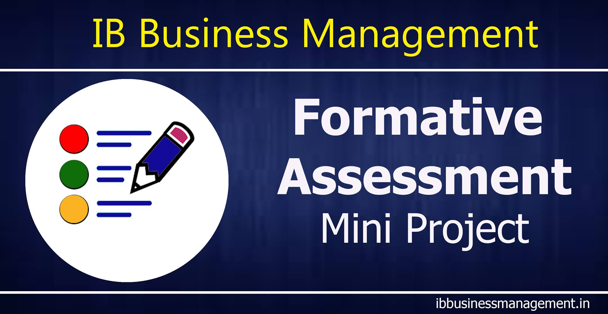 Business Management - Formative Assessment  Mini Project