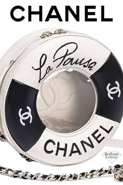 Brilliant Luxury♦Chanel Small Round Bag #black #white