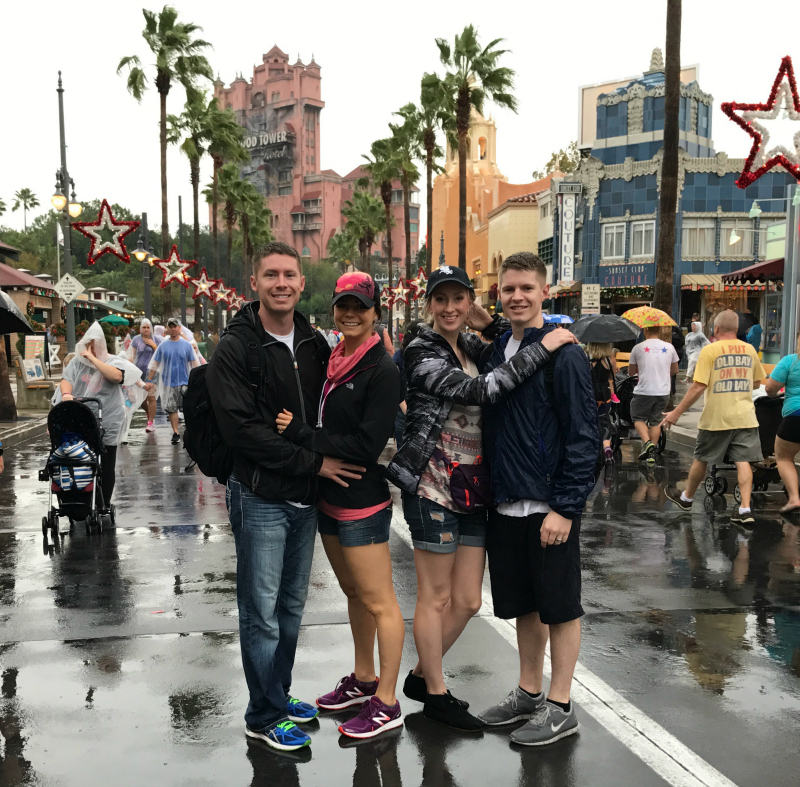 Disneyworld, Hollywood Studios, Tower of Terror, Disneyworld at Christmas