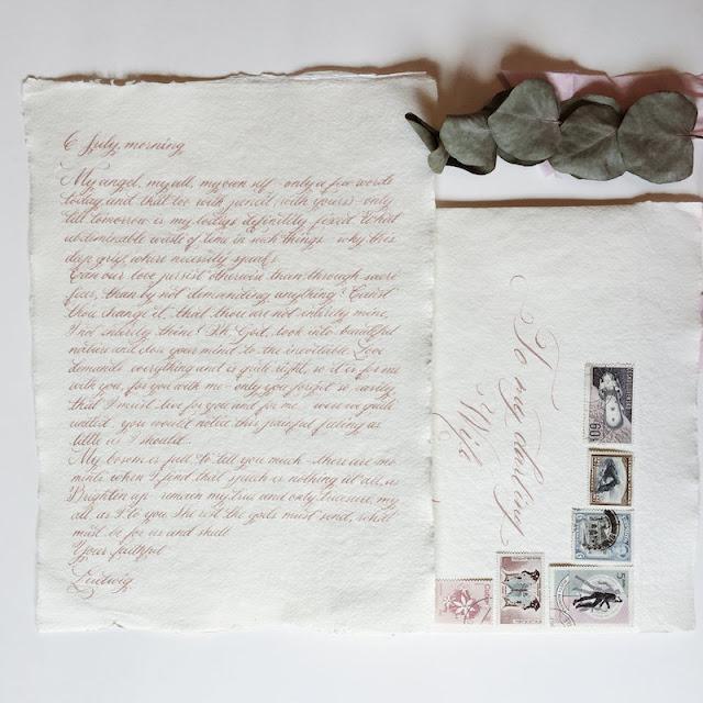 Hand-written Love Letter