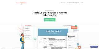 Cara Membuat CV Yang Menarik dan Mudah menggunakan resume genius
