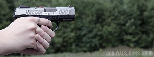 God, Gals, Guns, Grub: Ruger SR9 and SR9c Centerfire Pistols