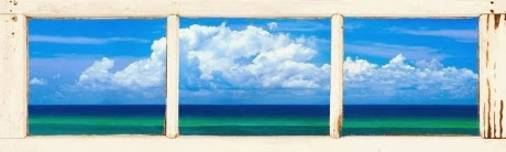 ocean view window photograph