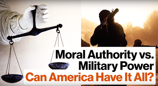 Jelani Cobb: Militaristic Power or Moral Authority -- Do Governments Have to Choose?