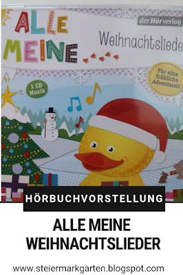Hörbuch-Vorstellung-Alle-meine-Weihnachtslieder-Pin-Steiermarkgarten