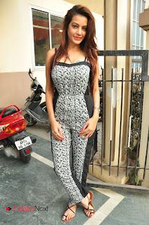 Actress Diksha Panth Stills at CHAL CHAL GURRAM Audio Release at BIG FM 0061