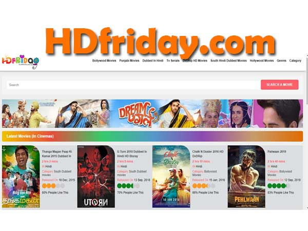 hdfriday hollywood Dubbed in Hindi, Bollywood Movies Download & New Domain Link