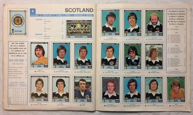 Figurine Scozia Argentina '78