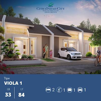 Bukit VIOLA Citra Indah City mulai dipasarkan - mulai 387 jt an