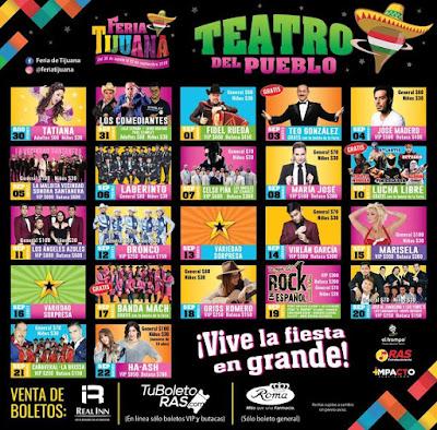 teatro del pueblo feria tijuana 2019