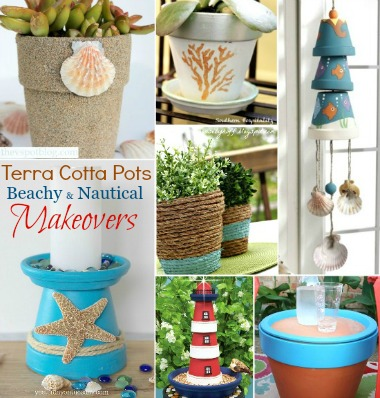 Terra Cotta Pot Makeovers