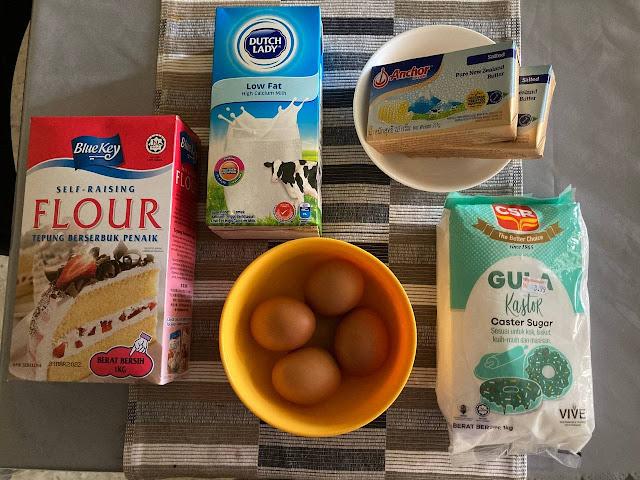Resepi The Best Butter Cake X Butter Anchor