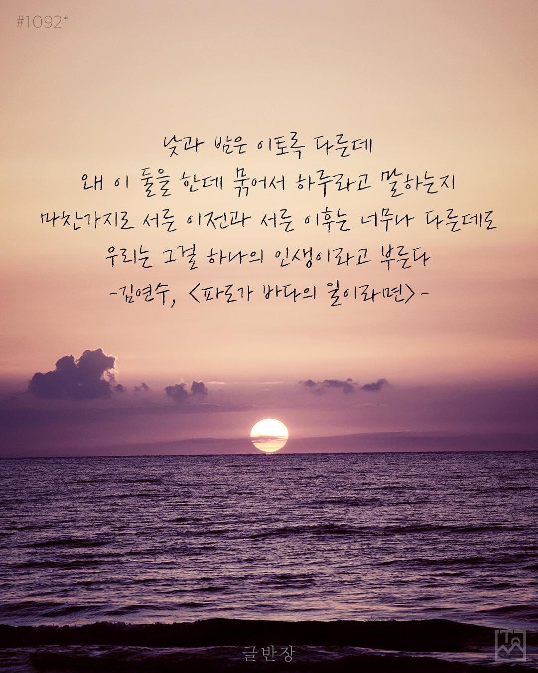 우리는 그걸 하나의 인생이라고 부른다 - 김연수, <파도가 바다의 일이라면>