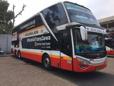 Foto Bus Harapan Jaya Tingkat 556