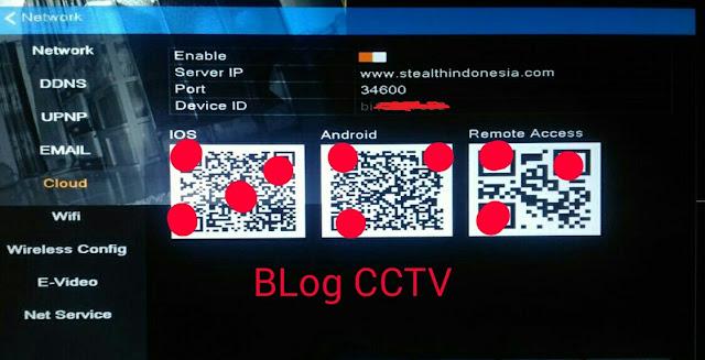 Cara Setting Cloud DVR CCTV Stealth Di Handphone Android dan Iphone