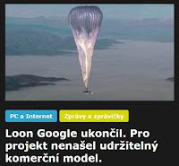 Loon Google - AzaNoviny