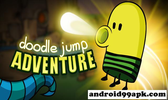 لعبة Doodle Jump Adventure v2.8.7.10 مهكرة بحجم 94 ميجابايت للأندرويد
