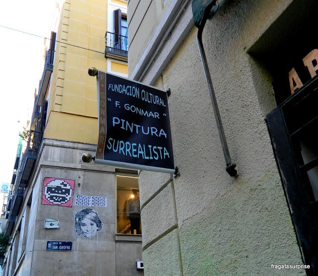 Uma esquina do bairro de Chueca, Madri