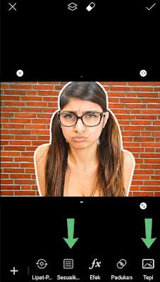 Cara Mengganti Background foto di PicsArt