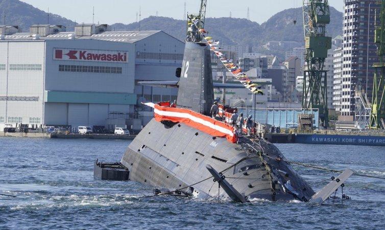 Японія спустила на воду 12-й підводний човен Сорю