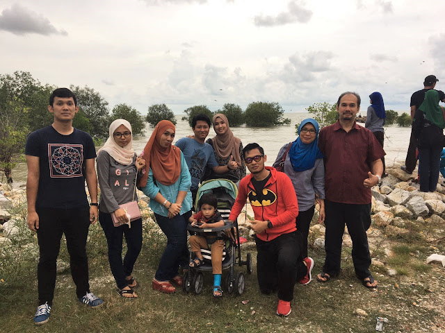 Celebrated May Birthday Babies On April Fool's Day At Medan Ikan Bakar Pantai Jeram