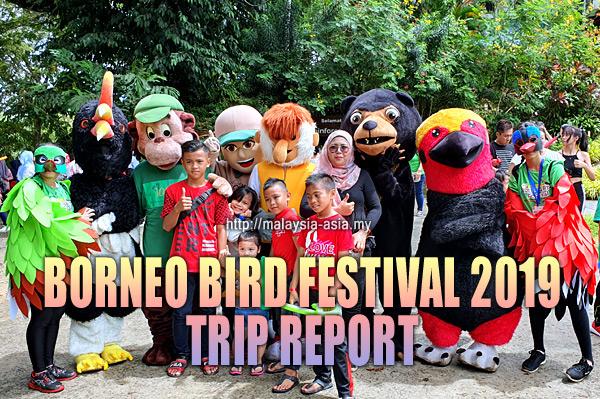 Trip Report Borneo Bird Festival 2019