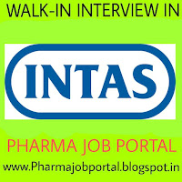 Urgent Vacancy at Intas pharma - Multiple Vacancy