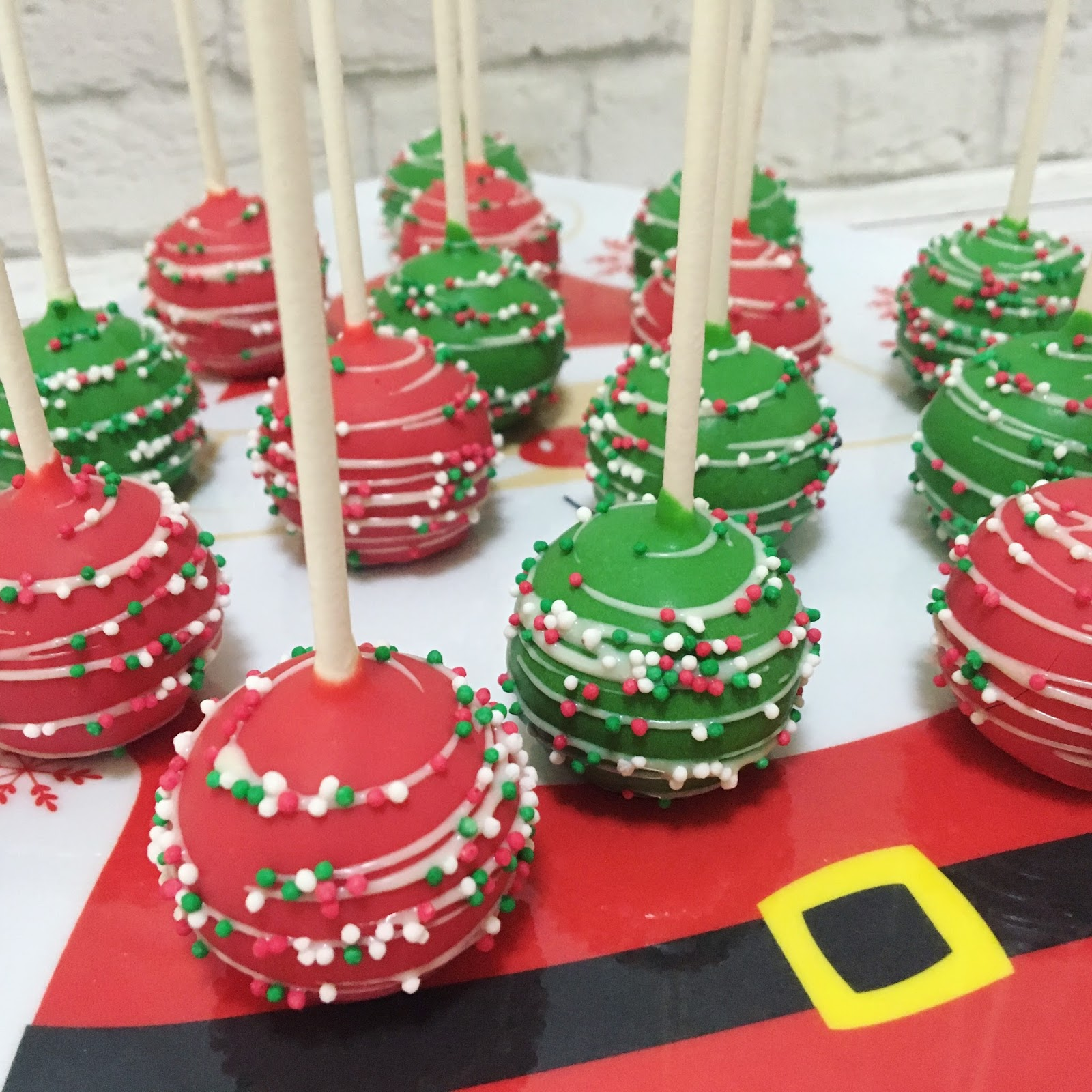 Pics of christmas cake pops