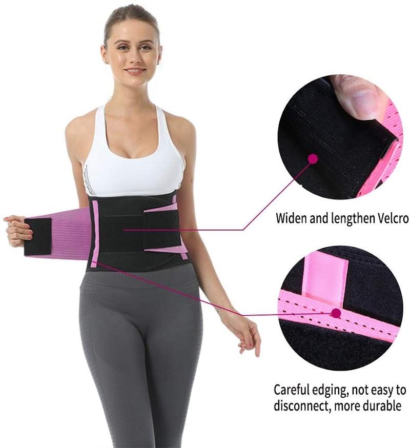 60% off Breathable Women Waist Trainer Belt Waist Trimmer Slimming Body Shaper Sports Girdles