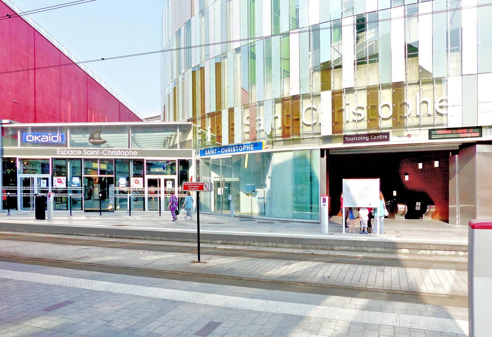 "Métro Tourcoing - Station ""Tourcoing Centre"""