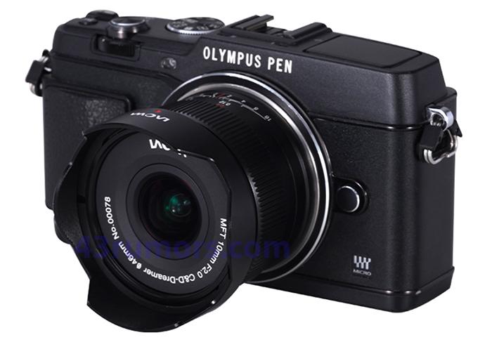 Объектив Laowa 10mm f/2.0 C&D-Dreamer с камерой Olympus