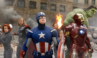 The Avengers superhero movie